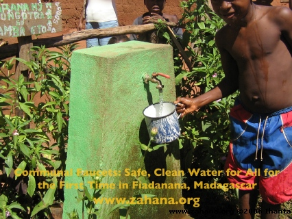 Green water faucet_in_Fiadanana_Madagascar