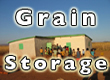 Communal rice and corn storage bulding in Madagascar
