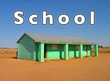 The community builds a school in Madagascar