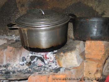 cook stove close up