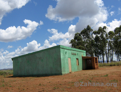 Fiarenana's new community built school