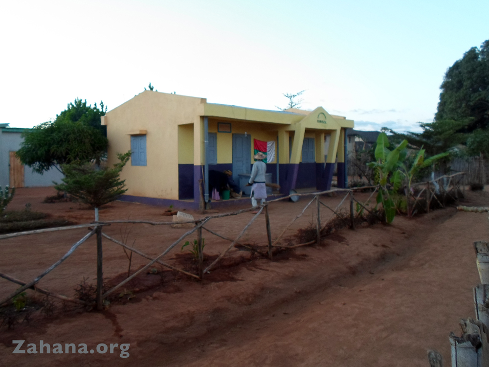 New health center for Faidanana madagascar zahana.org