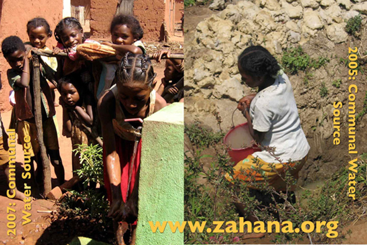 Progress photo Zahana with water