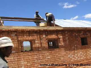Building the school for Fiadanana in Madagascar