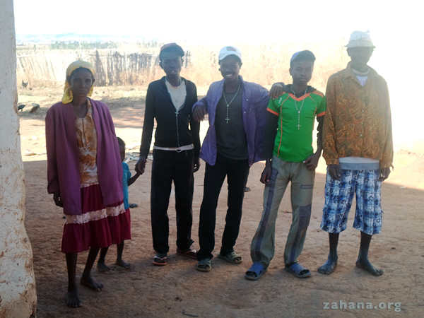 Their family getting ready for the high school exam in Rural Madagascar - zahana